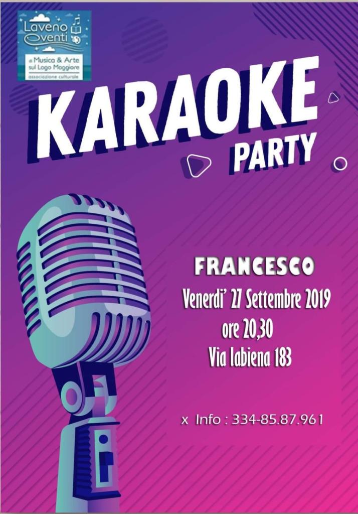 KARAOKE PARTY @ Presso la Sede